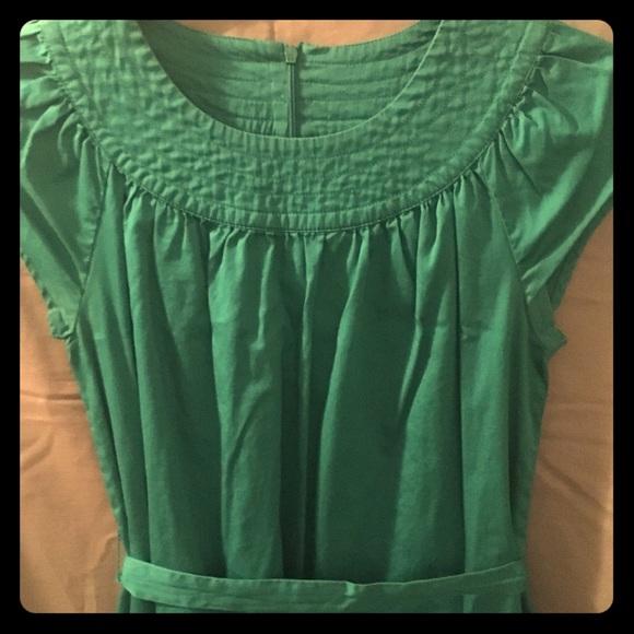 Merona Dresses & Skirts - 🎉Merona Emerald Casual dress w/pockets size Small